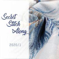Secret SAL 2020/1  - keresztszemes készlet
