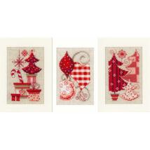 Hímezhető karácsonyi képeslap