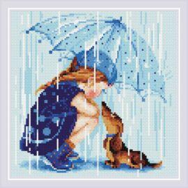 Diamond Mosaic készlet - Az esernyőm alatt