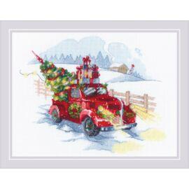 Irány a karácsony! - Riolis keresztszemes készlet