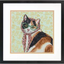 Mama cica - Dimensions keresztszemes készlet