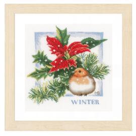 Tél - Lanarte  keresztszemes készlet