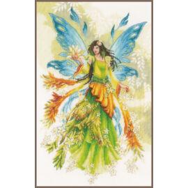 Fantasy Elf Fairy - Lanarte keresztszemes készlet