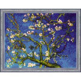 Mandula virágzás - Van Gogh festménye alapján keresztszemes készlet
