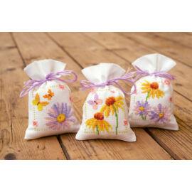 Illatzsák - Kasvirág és pillangók