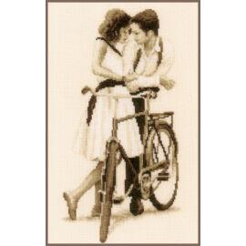 Pár biciklivel - Vervaco keresztszemes készlet