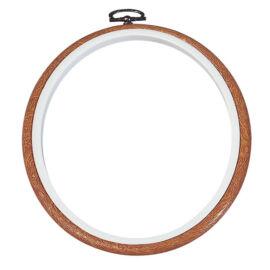 DMC flexi hoop - rugalmas hímzőráma / képkeret (13 cm átmérővel)