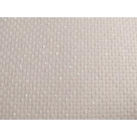 Zweigart csillogós fehér Aida - 14 ct (55x50 cm)