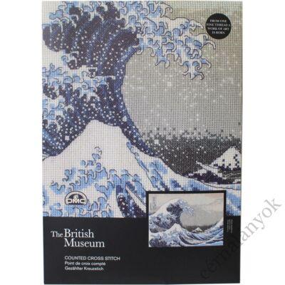 Hokusai: A nagy hullám - keresztszemes készlet