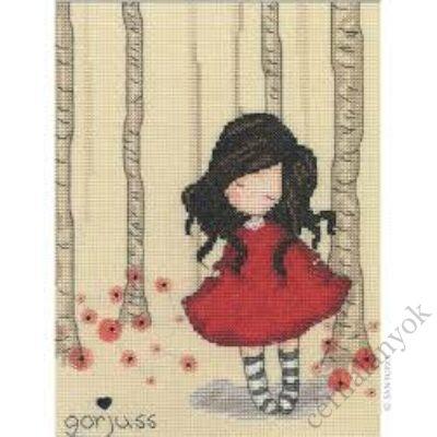Poppy Wood - Gorjuss keresztszemes készlet