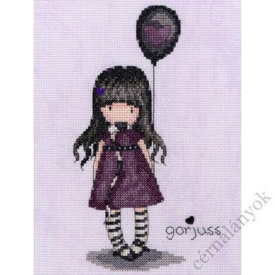 The Balloon - Gorjuss keresztszemes készlet