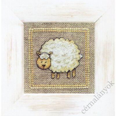 Lanarte: Bárányka gobelin kézimunka készlet