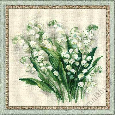 Gyöngyvirágok keresztszemes készlet