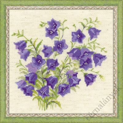 Harangvirág - keresztszemes készlet