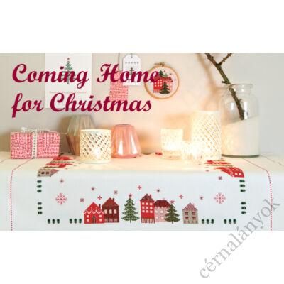 Coming Home for Christmas - Rico keresztszemes mintafüzet