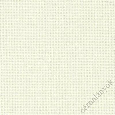 Zweigart Linda hímzővászon - fehér 27 ct, 85 cm széles