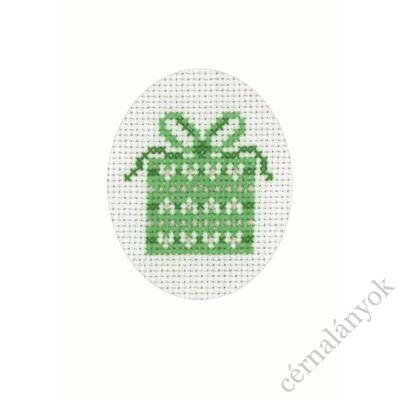 Hímezhető Permin karácsonyi képeslap 05.