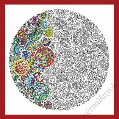 Zenbroidery - Karácsonyi díszek