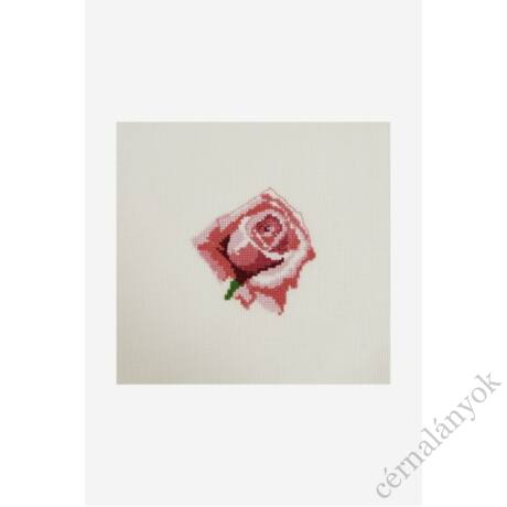 DMC Mini hímzőkészlet - rózsa