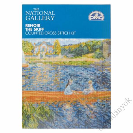 Renoir: Csónakázó hölgyek a Szajnán - keresztszemes készlet