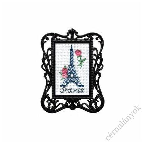 Párizs - leszámolható RTO keresztszemes készlet kerettel