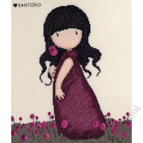 Pink Poppy - Gorjuss keresztszemes készlet