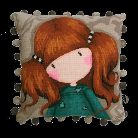 Little Annie - gobelin párna alap