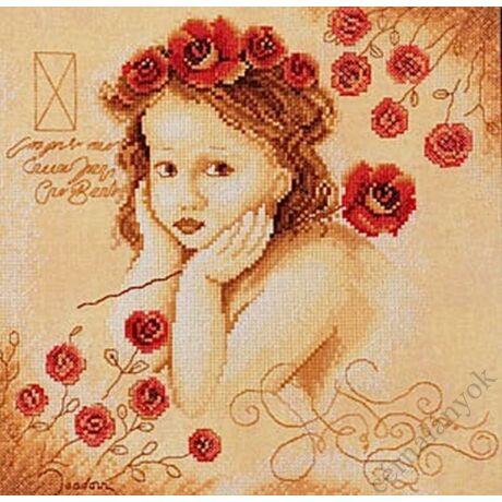 Lanarte: Sweethearts - Dreamy keresztszemes készlet
