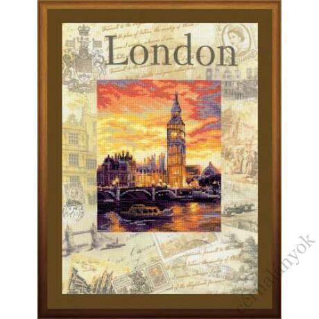 A világ városai. London keresztszemes készlet