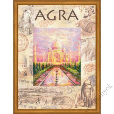 A világ városai. Agra keresztszemes készlet