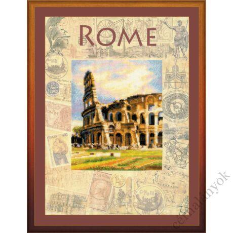 A világ városai. Róma keresztszemes készlet