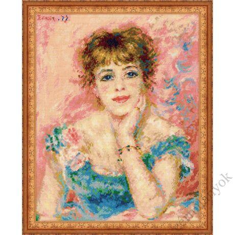 Renoir: Jeanne Samary portréja