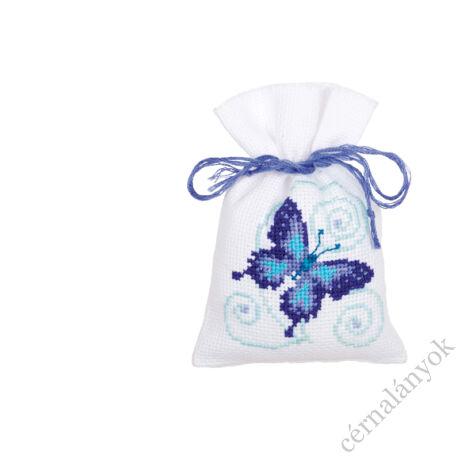 Illatzsák - Kék pillangók