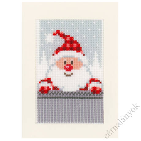 Hímezhető karácsonyi képeslap 3.