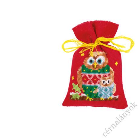 Illatzsák - Karácsonyi baglyok