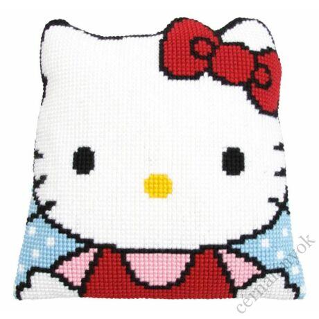 Hello Kitty párna hátlappal