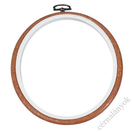 DMC flexi hoop - rugalmas hímzőráma / képkeret (17,5 cm átmérővel)