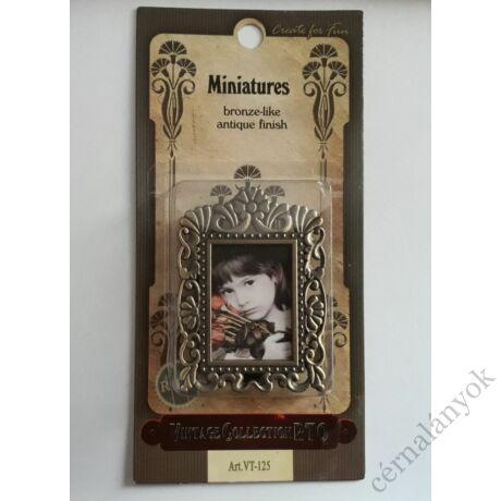 Antikolt vintage kis képkeret - RTO 125.