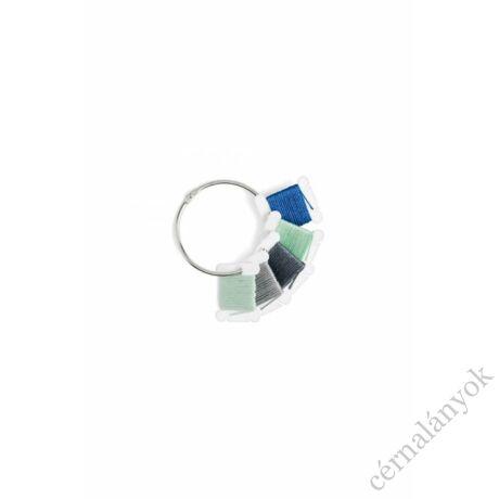 DMC plasztik bobinázó fémgyűrűvel