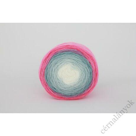 Papatya Cake - színátmenetes kötőfonal 200: rózsaszín - szürke