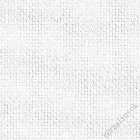 Zweigart fehér Aida - 18 ct (50 cm x 50 cm) - méretre vágott kelme