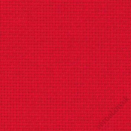 Zweigart Karácsonyi piros Aida (55 cm x 50 cm) - méretre vágott kelme