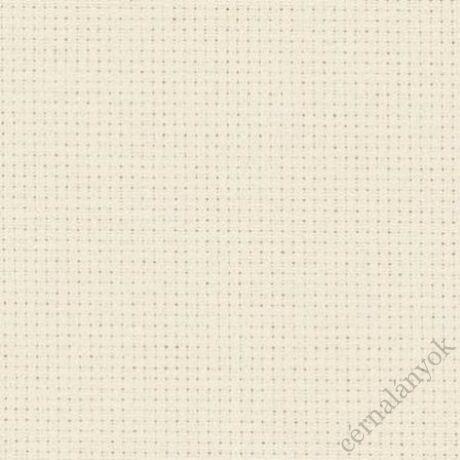 Zweigart ecru Aida - 14 ct (150 cm széles)