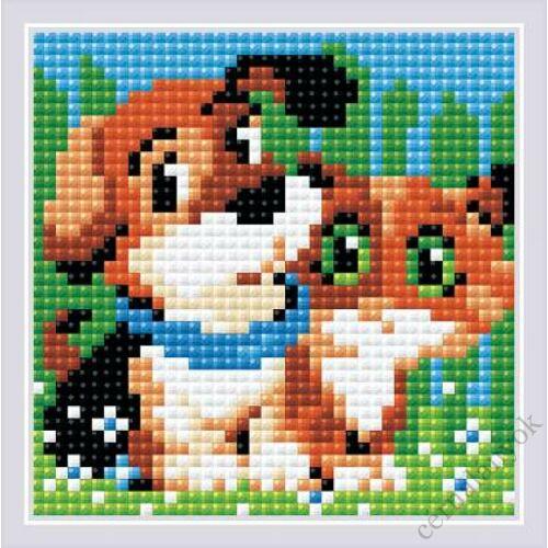 Diamond Mosaic készlet - Cicus és kutyus