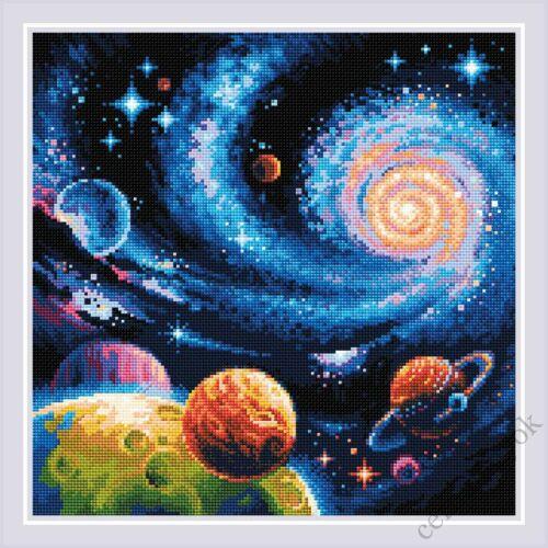 Diamond Mosaic készlet - Galaxis