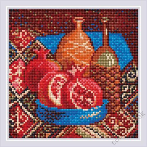 Diamond Mosaic készlet - Gránátalmák