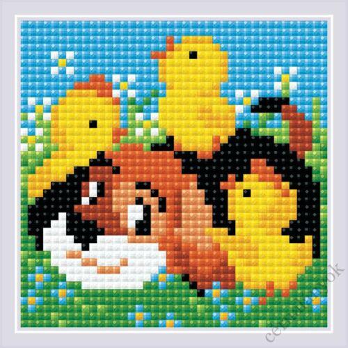 Diamond Mosaic készlet - Legjobb barát