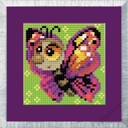Diamond Mosaic készlet - Pillangó