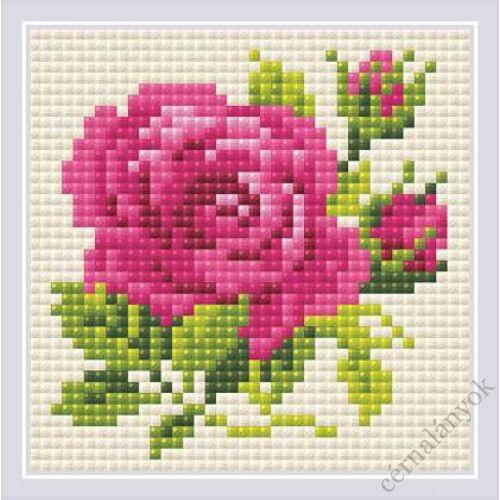 Diamond Mosaic készlet - Rózsa