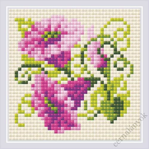 Diamond Mosaic készlet - Lila folyondár
